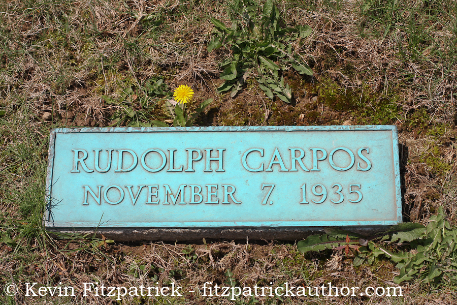 The N.V.A. burial ground location for clown Rudolph Carpos.