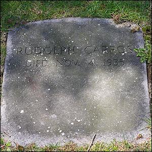 Rudolph Carpos Grave
