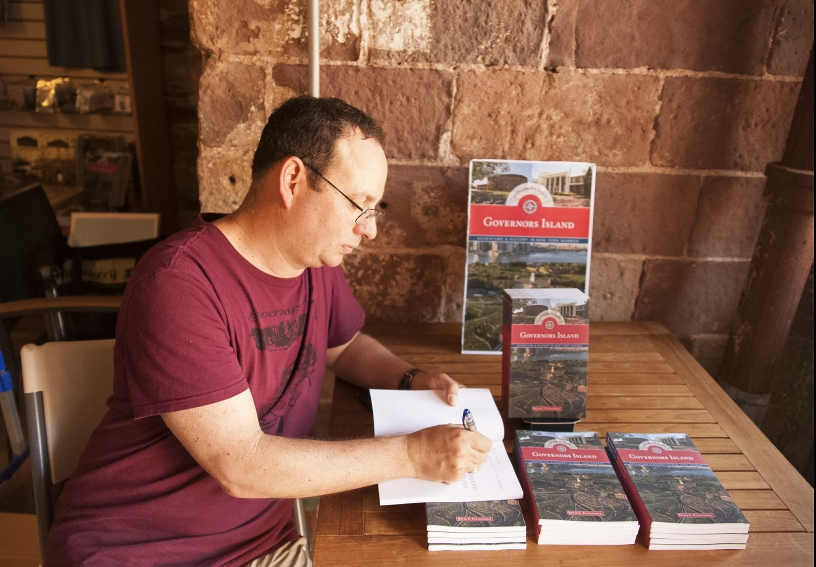 Castle Williams Book Signing 2016.