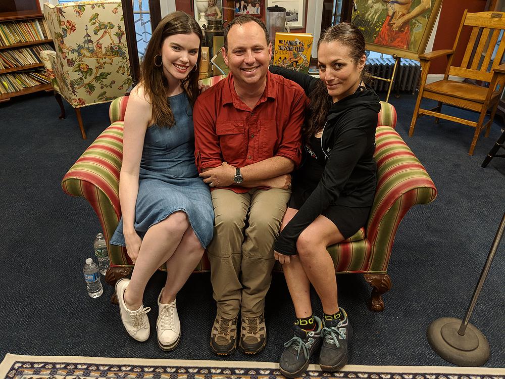 Kaley, Kevin, Joanna