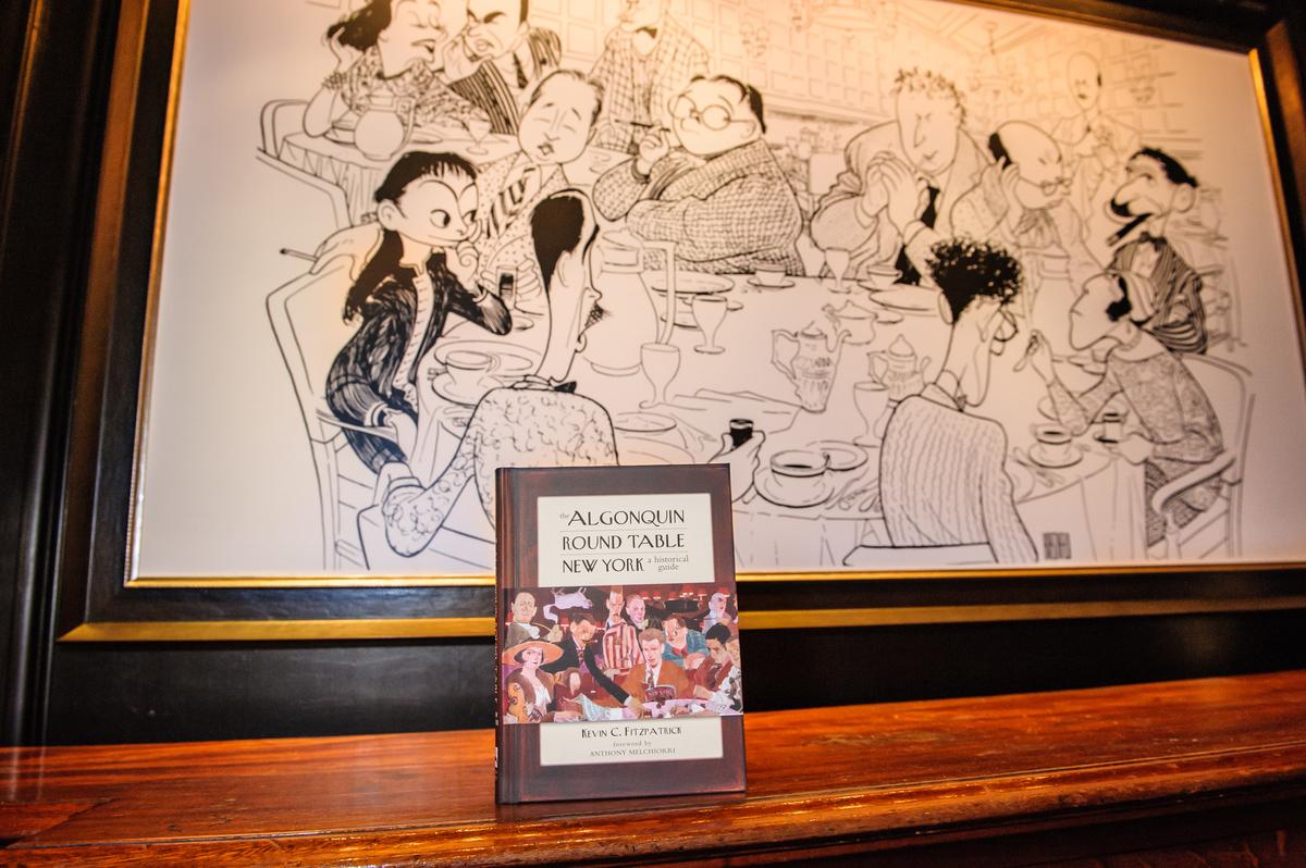 Algonquin Round Table New York by Jane Kratochvil